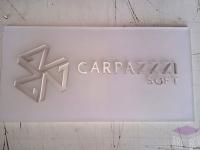 Табличка из оргстекла с объемными буквами
