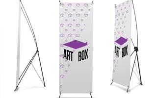 X-banner, L-banner